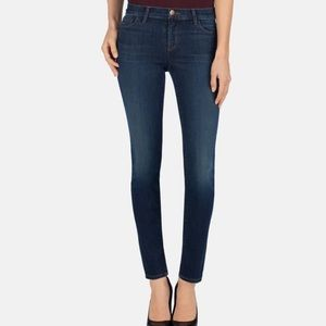 J BRAND The Skinny Mid Rise Jeans